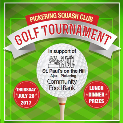 The Annual Pickering Squash Club Golf Tournament