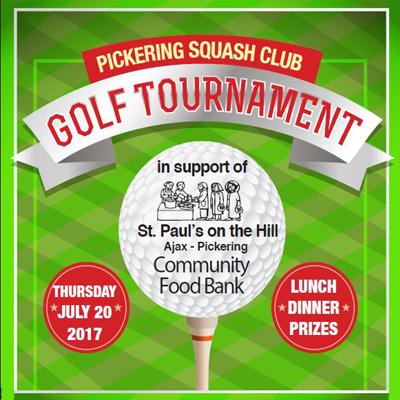 The Annual Pickering Squash Club Golf Tournament